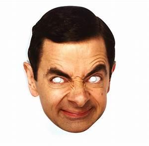 Mr Bean (Rowan Atkinson) - Party Mask Pink Cat Shop