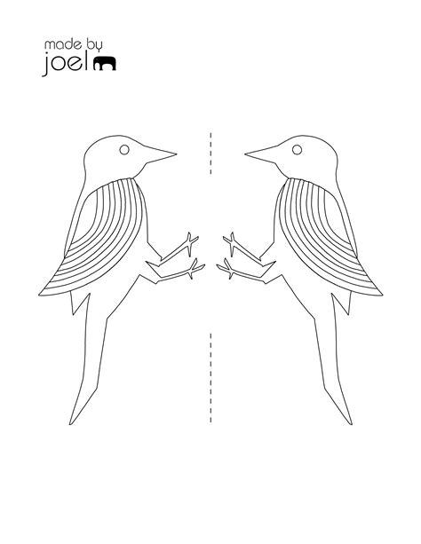 joel woodpecker toy coloring template   joel