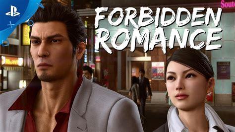 yakuza kiwami  forbidden romance trailer ps youtube