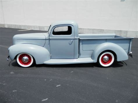 ford pickup custom classic street rod hot rod show car