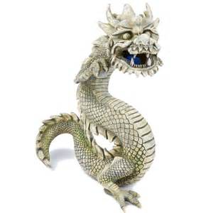 Fish Tank Bubbler Decoration by Top Fin Balinese Dragon With Airstone Aquarium Ornament