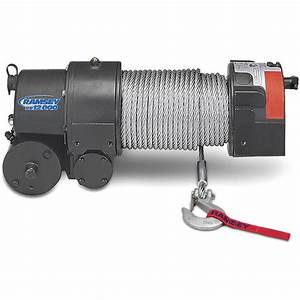 Ramsey 112162 Re 12000 Winch With 12 Ft  Wire Pendant Remote