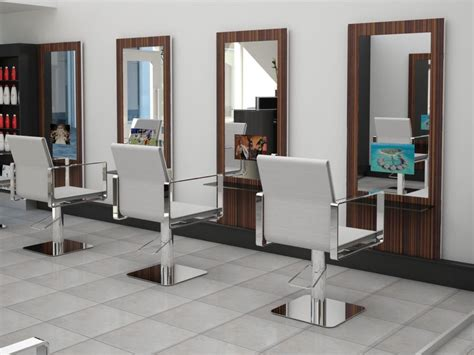 Hair Salon Station Mirror With Digital Tv Ebay