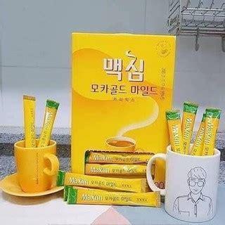 100pcs just add hot water and stir. Korea Maxim Mocha Gold Mild Coffee Mix 3 in 1 12 g *100 ...