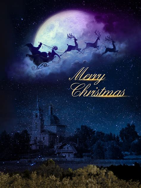 christmas fantasy poster background template christmas
