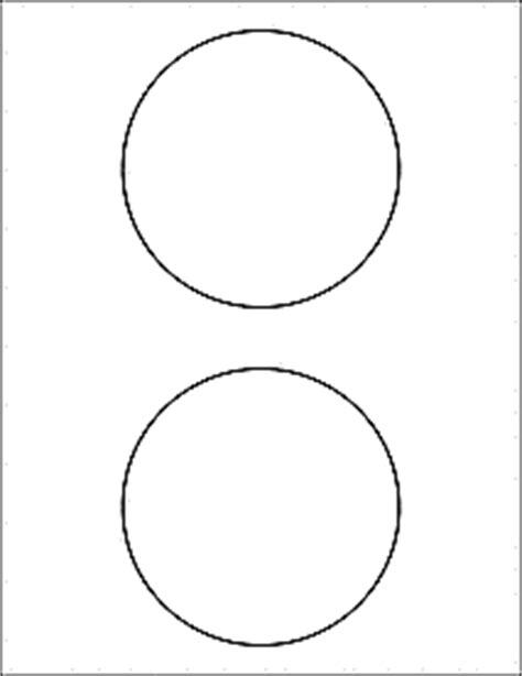 Psd Template 6 Circles 3 Inch Diameter Label Templates Ol5475 4 5 Quot Circle Labels