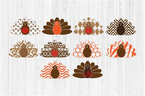 We have a huge range of svgs products available. Thanksgiving Turkey SVG Cut Files Graphic by ...
