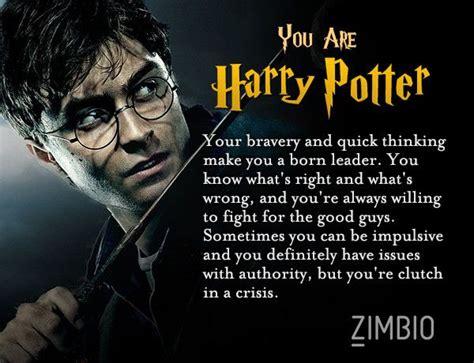 I Took Zimbio's 'harry Potter' Personality Quiz And I'm