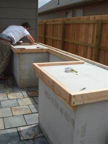 outdoor grill countertops 1000 ideas about outdoor countertop on pinterest big