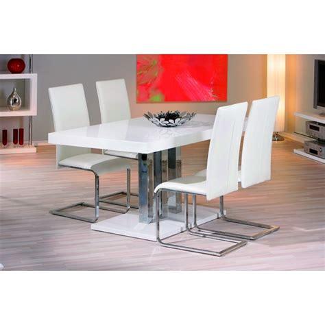 chaise blanche pas cher chaise de cuisine blanche pas cher idées de décoration
