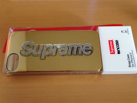 Supremeのiphoneケース「bling Logo Iphone 5 Case」が届きました [レビュー