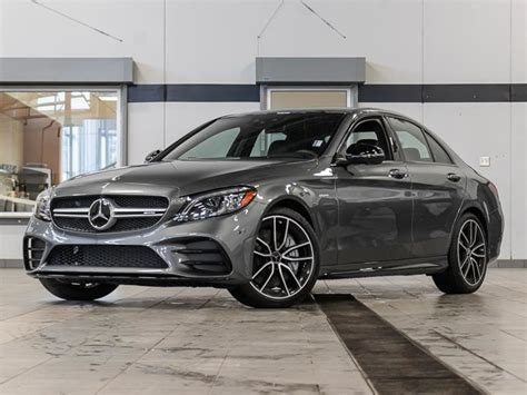 Powered by a 3.0l v6 and sporting a pair of turbochargers, the c43 makes 362. Kelowna Mercedes-Benz | New 2020 Mercedes-Benz C43 AMG ...