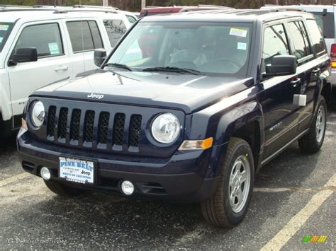 patriot jeep blue 2012 true blue pearl jeep patriot sport 4x4 60506245