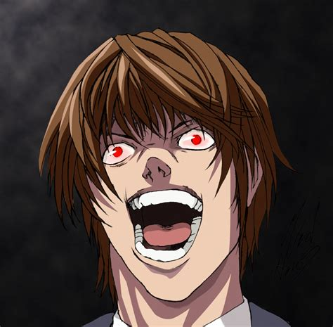 Anime Death Note Light Light Yagami From Death Note By Tommy Clark On Deviantart
