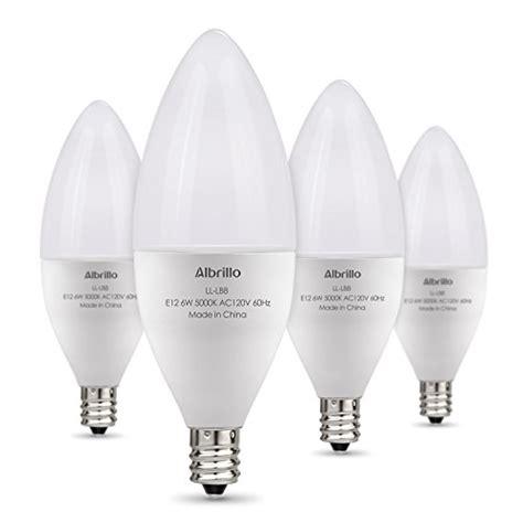 bulbs led bulb e12 watt 60 candelabra daylight base equivalent 5000k