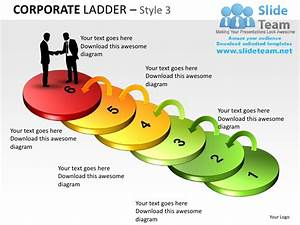 Corporate Ladder Style 3 Powerpoint Presentation Slides Ppt Templates