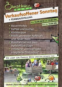 Verkaufsoffener Sonntag Buchholz 2018 : verkaufsoffener sonntag obstbau wenz ~ Orissabook.com Haus und Dekorationen