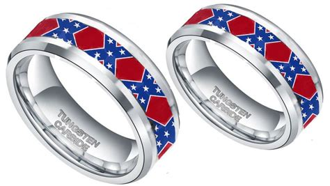 Dixie Flag His & Hers Couples Ring Set Silver  Country. Fake Diamond Rings. Princess Denmark Mary Engagement Rings. Boxing Rings. Ideal Wedding Wedding Rings. Meaningful Wedding Wedding Rings. Fishing Hook Rings. Amethist Engagement Rings. Bien Wedding Rings