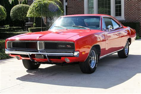 Red 1969 Dodge Charger R/T Se For Sale   MCG Marketplace