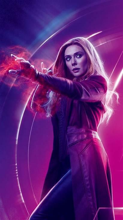 Wanda Avengers Maximoff Infinity War Poster Marvel