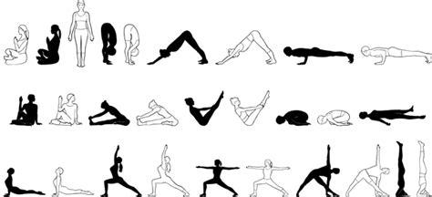 yoga poses drawings allyogapositionscom