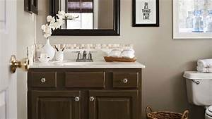 A vintage inspired bathroom remodel for How to remodel bathroom cheap