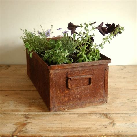 rusted steel planters 98 best images about rust on pinterest gardens folk art and garden art
