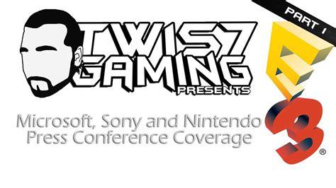 E3 2014 Press Conference Coverage [Microsoft, Sony and ...