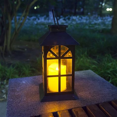 Steadydoggie Indoor Outdoor Solar Lantern For Patio And Garden