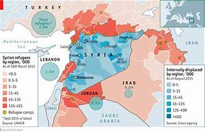 Syria's drained population - Daily chart
