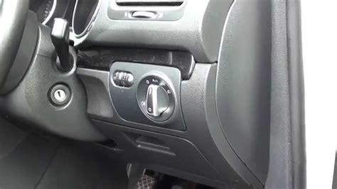 vw golf mk interior fuse box location    models