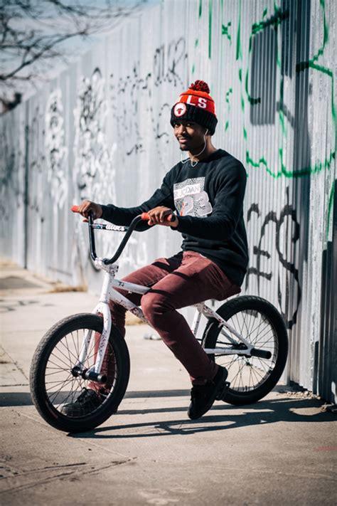 stylish  yorkers pose  portraits   bikes