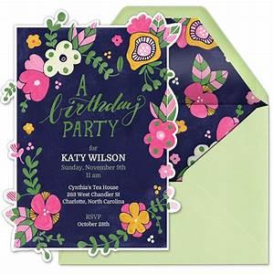 Garden Birthday Party - Evite