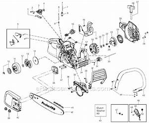 Poulan Pp4018 Parts List And Diagram