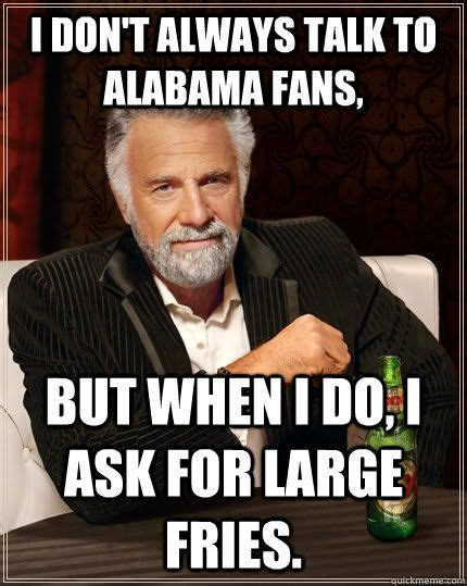 Funny Alabama Football Memes - 10 funniest alabama football memes of all time