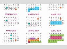 Calendario Escolar 20182019 185 días Secretaría de
