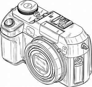디지털 카메라 클립 아트-벡터 클립 아트-무료 벡터 무료 다운로드