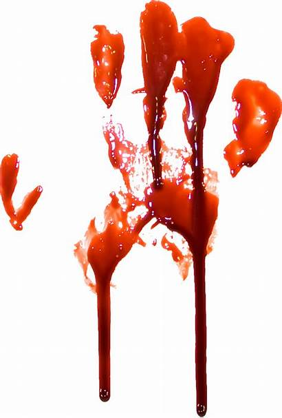 Blood Transparent Dripping Bloody Sang Realistic Clipart