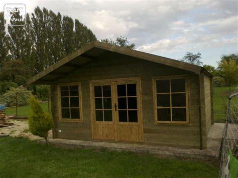 abri de jardin 20 m2 pas cher bois 45 mm massif rumes la