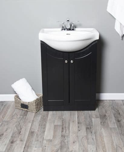 """At american standard it all begins with our unmatched legacy of quality and innovation that has lasted for more than 140 years.we provide the style and performance that fit perfectly into the life, whatever that may be. Dreamwerks 24""""W x 19-3/8""""D Vanity and White Porcelain Vanity Top with Integrated Sink at Menards®"""