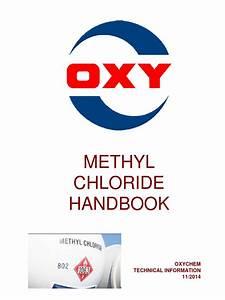Methyl Chloride Handbook