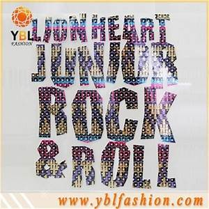 heat foil transfer letters design easy to iron on fashion With foil transfer letters