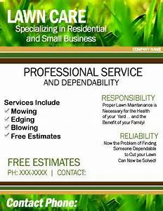 Landscaping Slogans Lawn Care Flyer Google Search Lawn Care Flyers Lawn