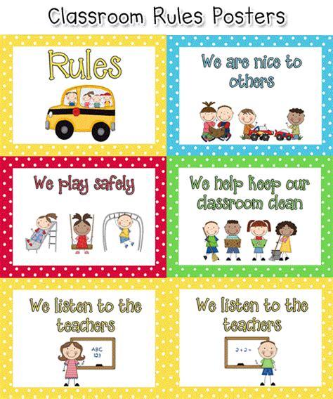 golden ears preschool resimli ingilizce sınıf kuralları classroom 836