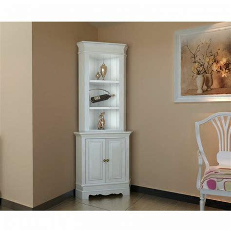 white living room cabinets corner display cabinet wooden shelf shab chic unit white