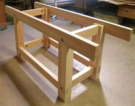 streamlined workbench woodworking bench plans
