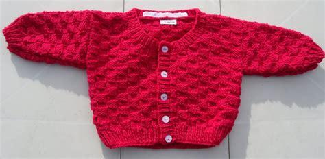 mere et fille cuisine gilet bébé fuschia 3 mois activités créatives et tricot