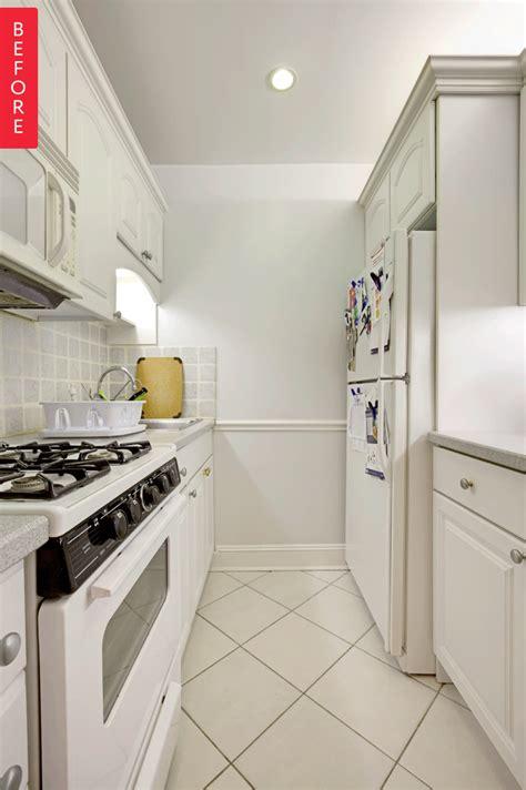 modern update   galley kitchen