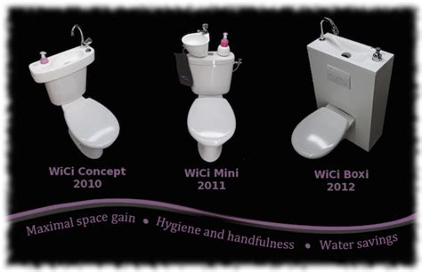 Toilet That Washes Your Bottom by Save Water With Wici Concept Wash Basins