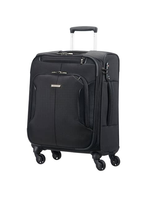 Samsonite XBR Mobile 55cm 4 Wheel Office Cabin Case Black
